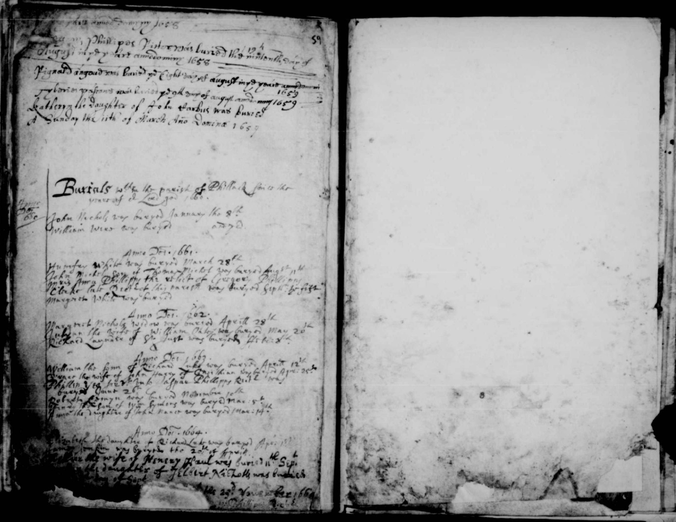 C:\Users\Virginia Rundle\Documents\Ancestry\Northey Moar Files\Tyack and Hockin Files\Burial of Grace Harry 25 April 1663 Phillack.jpg