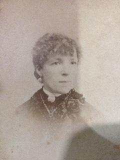 C:\Users\Virginia Rundle\Documents\Ancestry\Fuller files\John Fuller Snr\Harriett Fuller circa 1885.JPG