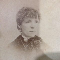 C:\Users\Virginia Rundle\Documents\Ancestry\Fuller files\John Fuller Snr\Harriett Fuller circa 1885.JPG