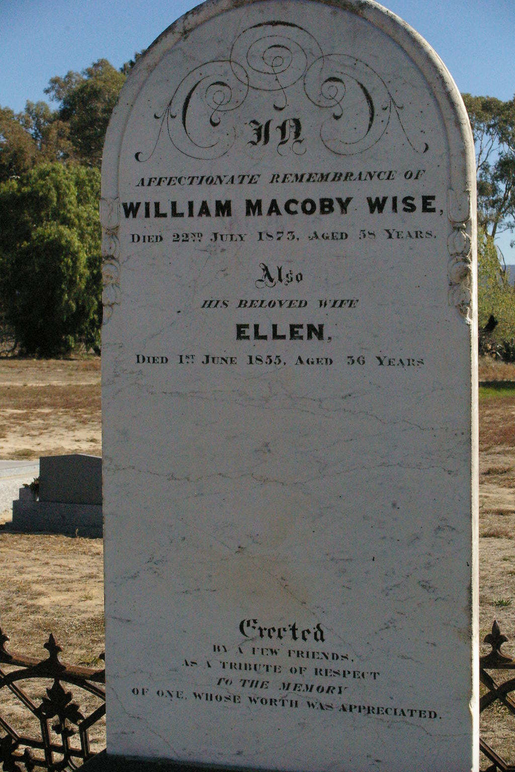 C:\Users\Virginia Rundle\Pictures\Family Tree\WISE William Macoby, Ellen.jpg