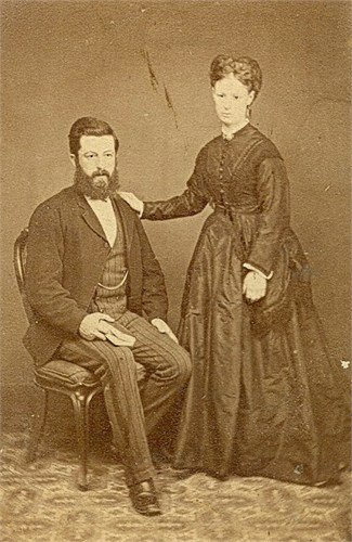 James Wise and Mahala Reed